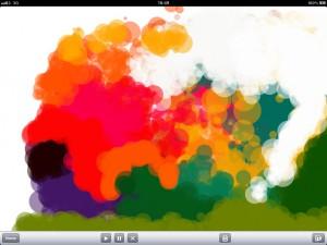 screen shot of Fish app in development